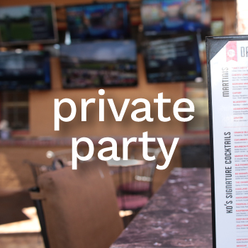 Private Party at KO's